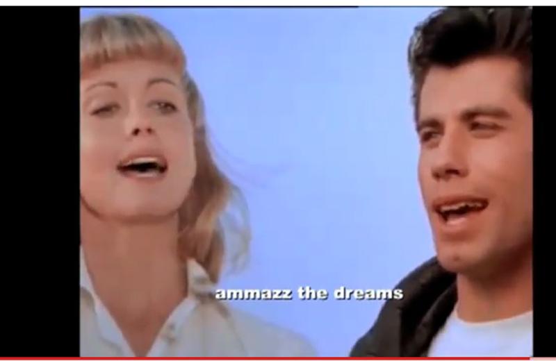 Un fotogramma dal video Arcore's Nights