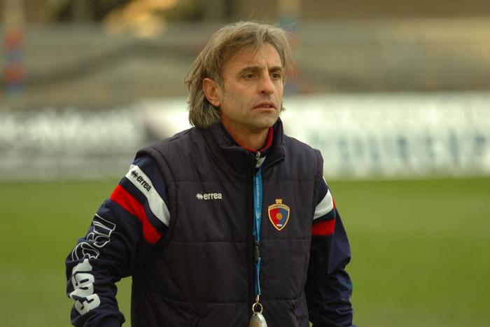 Gabriele Consorti, allenatore Samb al Torneo di Viareggio