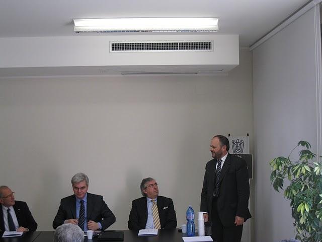 Presentazione Expo Piceno 2011: Vadim Sabluk, Paolo Masci, Giovanni Gaspari
