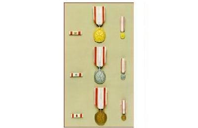 Le Medaglie con spade dell'Ordine di Malta
