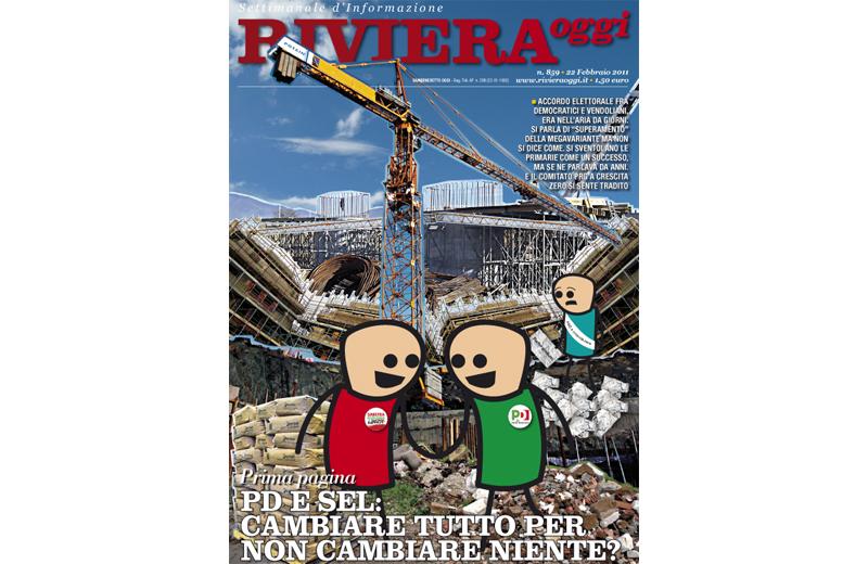 Riviera Oggi numero 859, la copertina