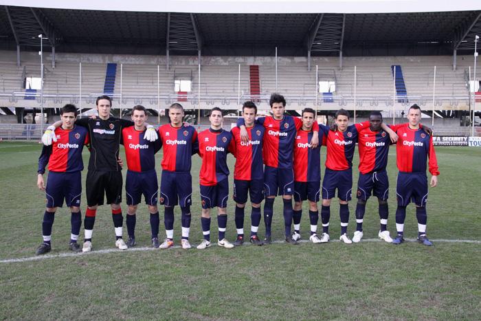La Samb che ha giocato contro l'Atalanta al Torneo di Viareggio 2011 (foto Troiani)