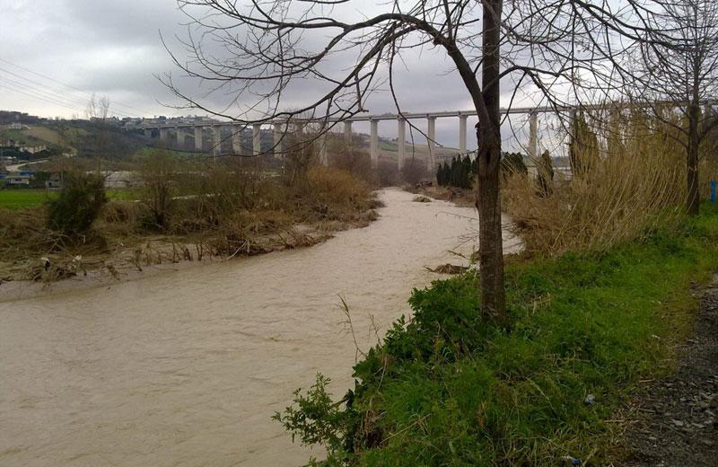 Il fiume Salinello