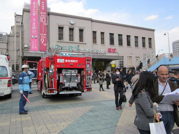 Tokyo il giorno dopo la tragedia di venerdì 11 marzo