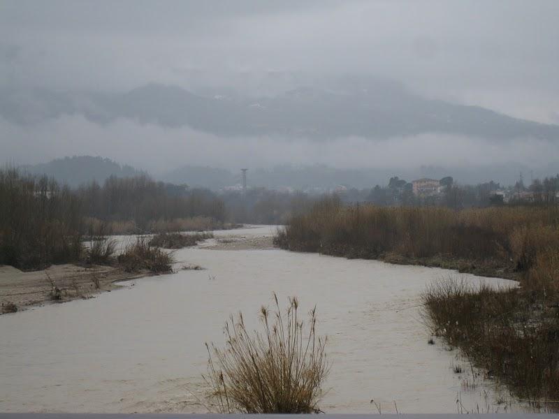 Il fiume Tronto, direzione ovest