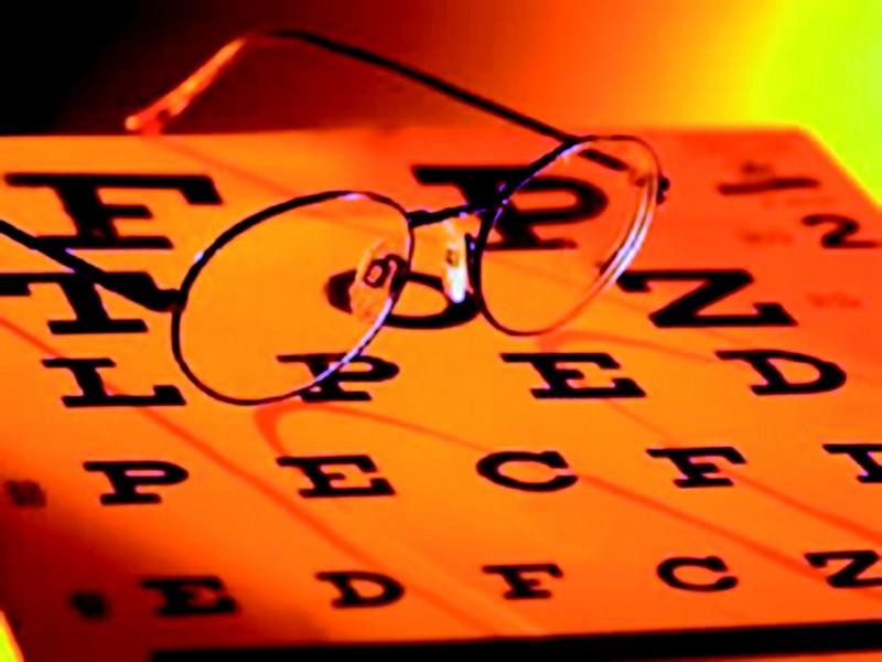 Un test per la vista, ai fini del rinnovo della patente di guida