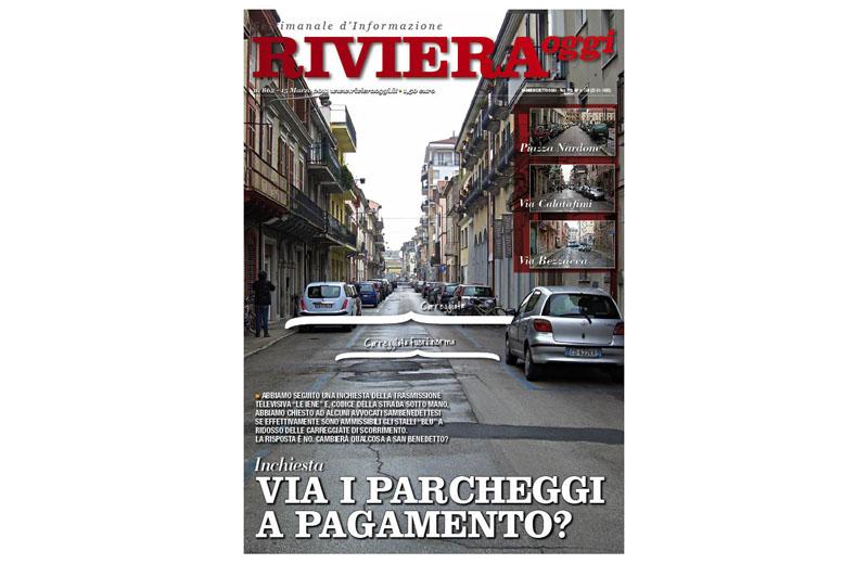 Riviera Oggi numero 862, la copertina dell'edizione di San Benedetto