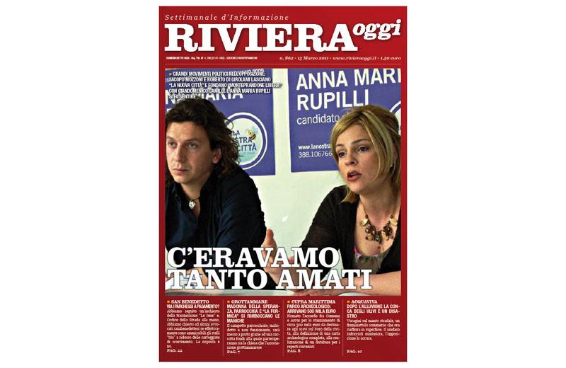 Riviera Oggi numero 862, la copertina dell'edizione di Monteprandone