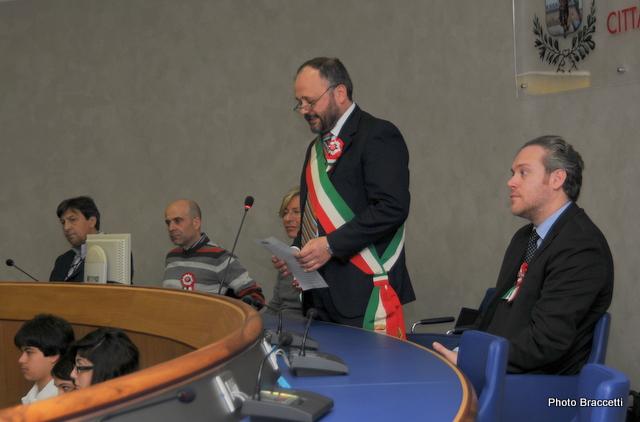 150° Unità d'Italia, nel municipio di San Benedetto (photoBraccetti)