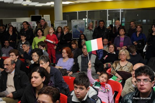 150° Unità d'Italia, cittadini nel municipio di San Benedetto (photoBraccetti)