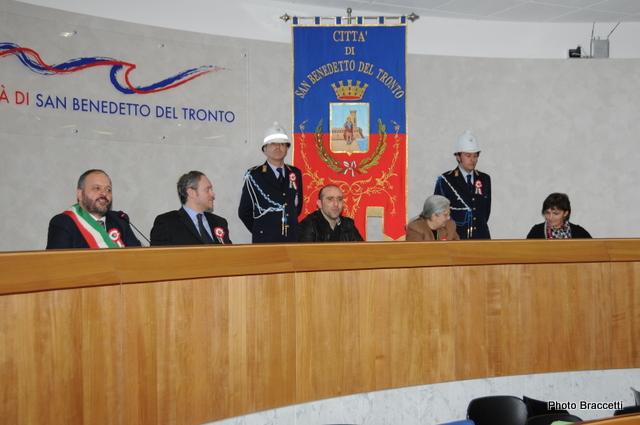 150° Unità d'Italia, Autorità nel municipio di San Benedetto (photoBraccetti)