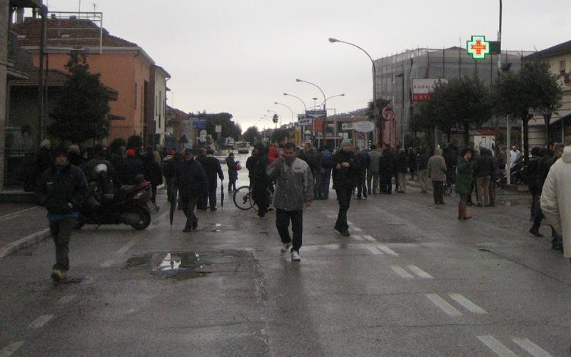 Allagamenti 2 marzo 2011, zona Agraria