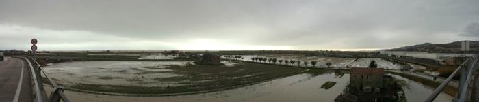 Allagamenti 2 marzo 2011, panoramica sulla Sentina