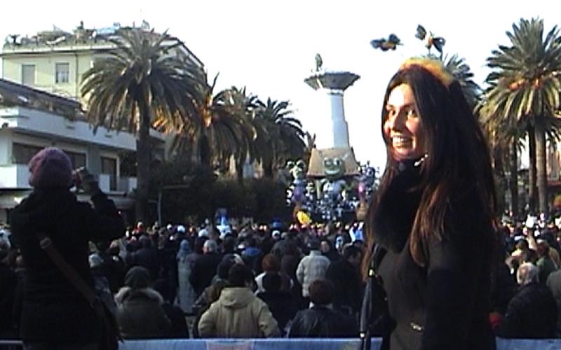 Barbara Pedrotti al Carnevale di San Benedetto 2011