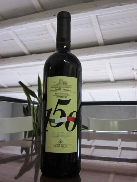 Bottiglia celebrativa, in edizione limitata, per i festeggimanti del 150esimo anniversario dell'Unita d'Italia