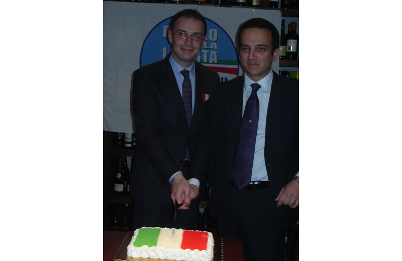 Bruno Gabrielli e Giuseppe Formentini