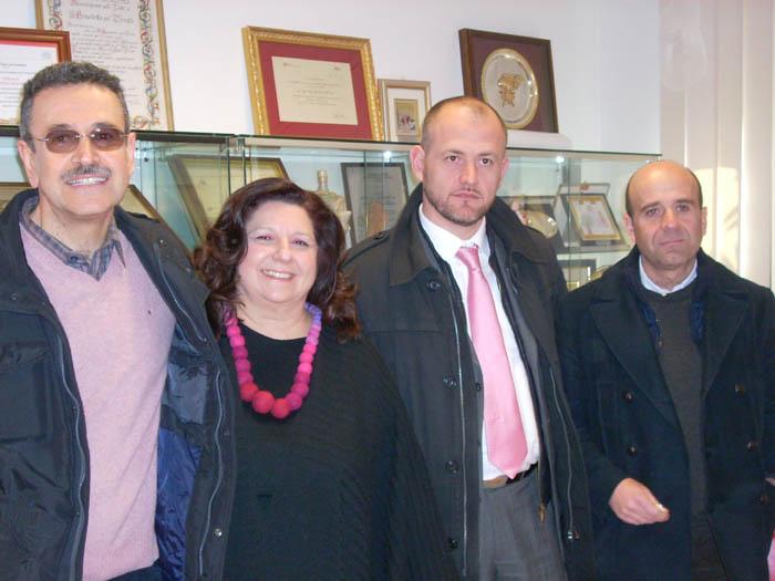 L'Italia dei Valori sambenedettese col coordinatore provinciale Cardilli
