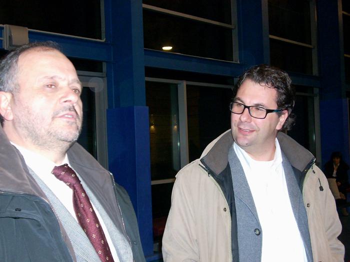 Giovanni Gaspari e Luca Spadoni