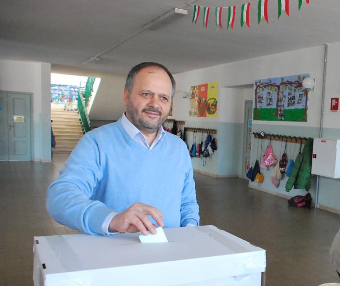 Primarie 2011: Gaspari al seggio