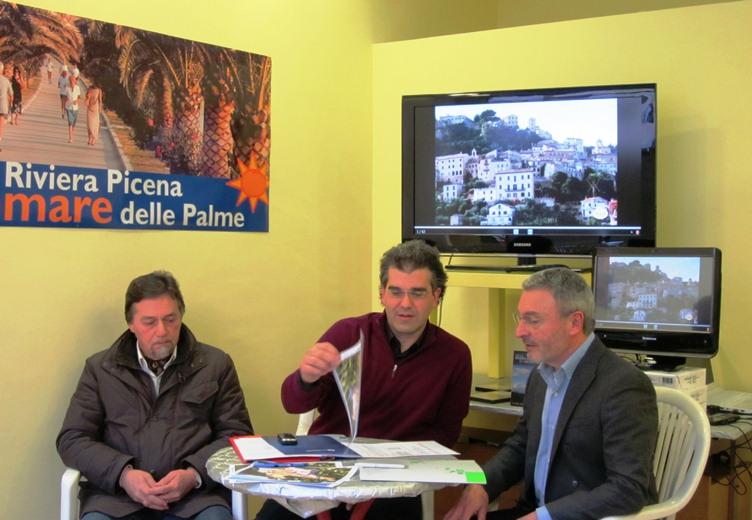 Da sinistra: Ugo Grossetti, Umberto Scartozzi, Oriente Buttafuoco