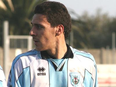 Davide Traini (foto di repertorio risalente agli anni della Serie D) giunto al sesto centro in campionato