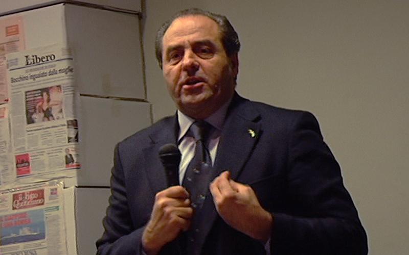 Di Pietro all'Auditorium comunale di San Benedetto il 18 marzo 2011