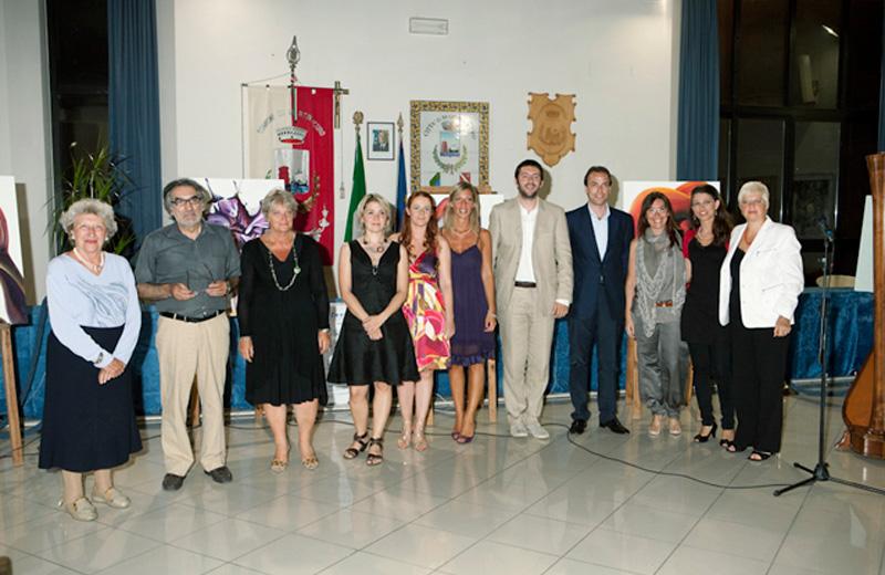 La cerimonia di premiazione dell'edizione 2010 (foto www.premiomartinsicuro.it)