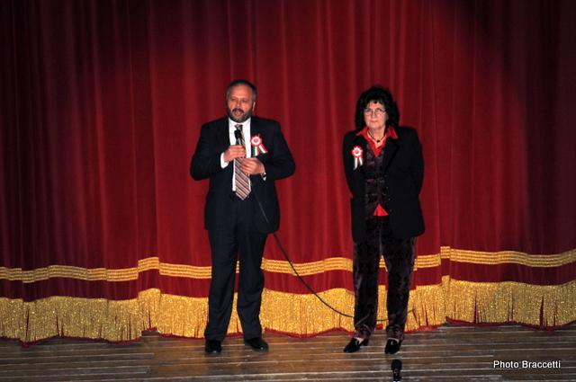 Festa dell'Unità al Teatro Concordia, Gaspari e Benedetta Trevisani