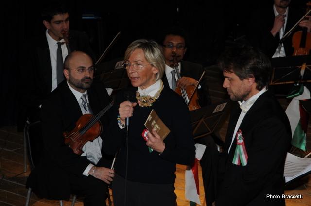 Festa dell'Unità al Teatro Concordia, Margherita Sorge