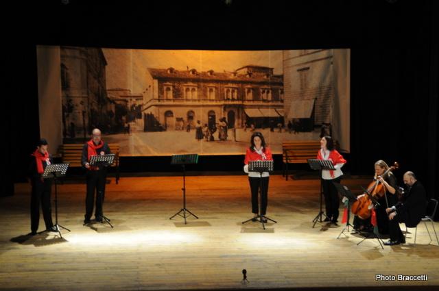 Festa dell'Unità al Teatro Concordia, Ribalta Picena