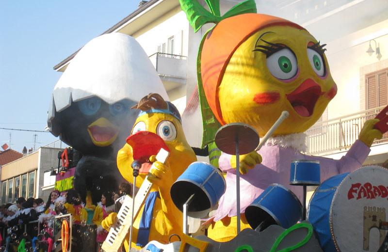 Carnevale di Sant'Egidio alla Vibrata, vietata la vendita di alcolici