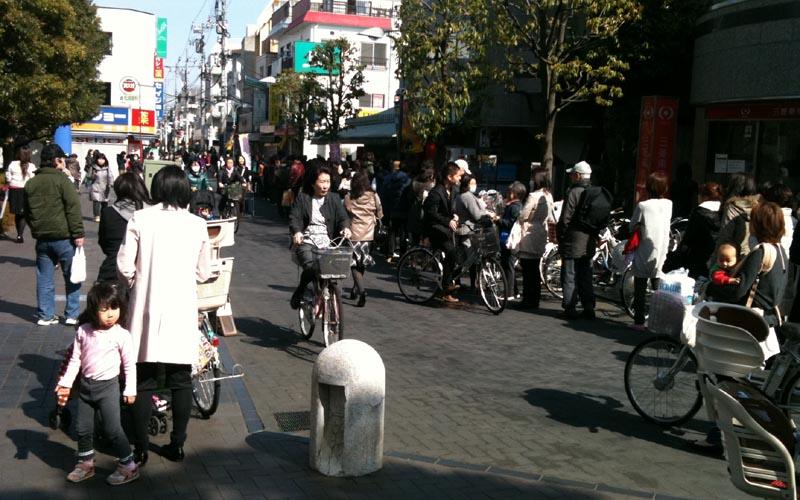 Il centro di Tokyo il 16 marzo (ph. Roberto Perozzi)