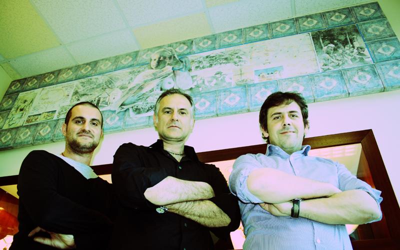 Kimberley Preziosi: Maurizio D'Angelo, Emidio D'Angelo e Leonardo Gentili (foto f.g.)