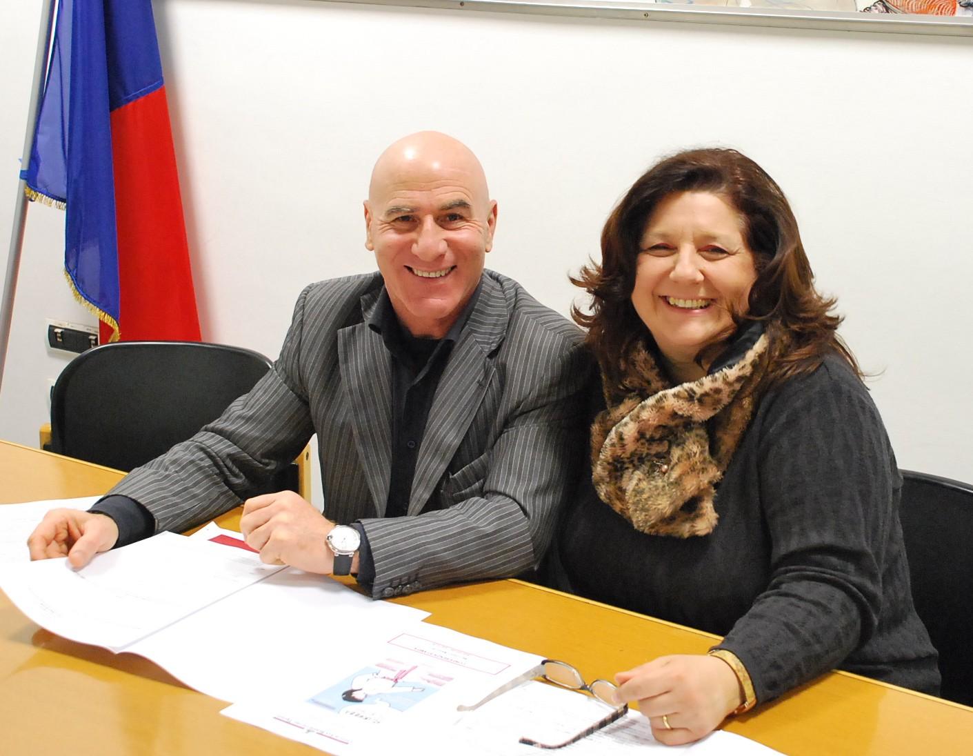 Palma Del Zompo col maestro Aloia
