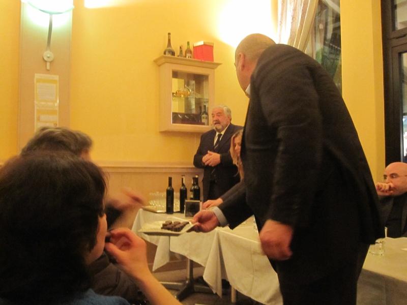 Pomeriggio dedicato al cioccolato, vino e poesia al Florian 2