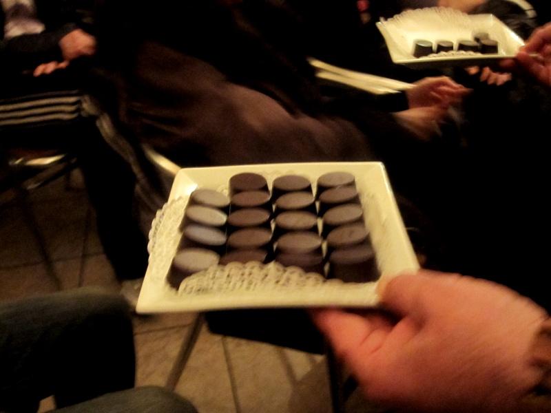 Pomeriggio dedicato al cioccolato, vino e poesia al Florian 3