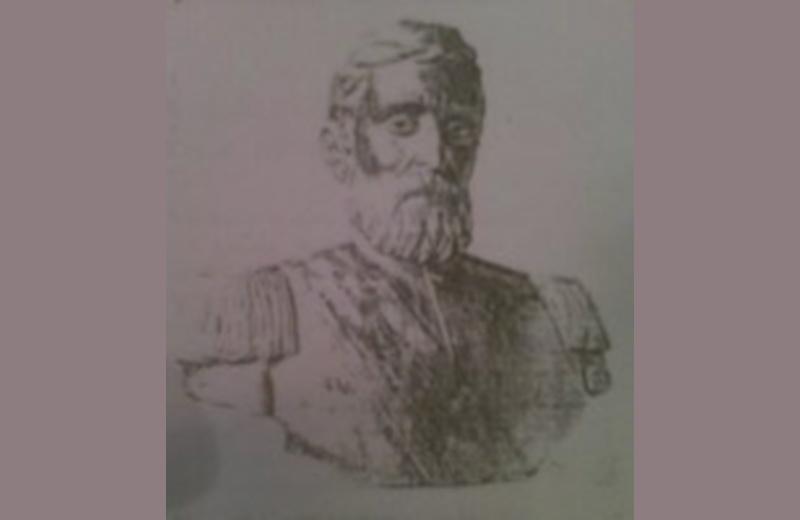 Riproduzione del busto di Nicola Laurantoni. Opera di Cleto Capponi