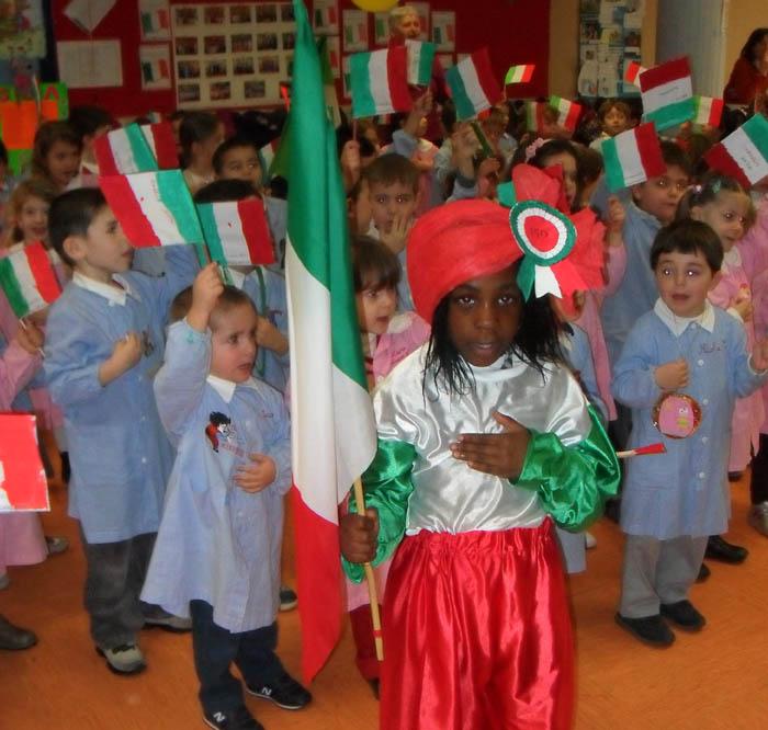 Iniziative nelle scuole per i 150 anni dell'Unità d'Italia
