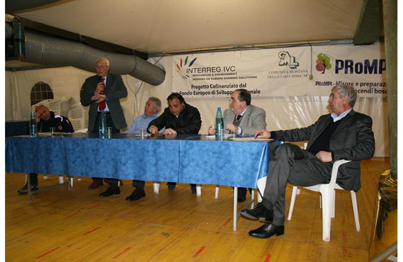 Il convegno sulla Protezione Civile