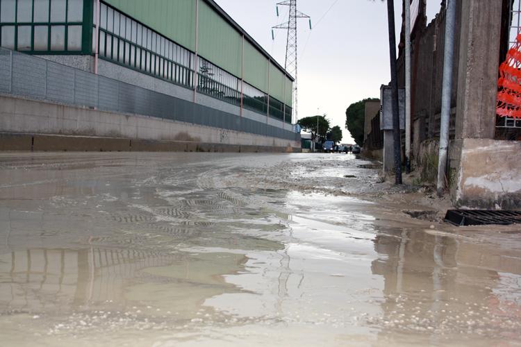 Zona industriale Centobuchi Allagamenti 2 marzo 2011 1