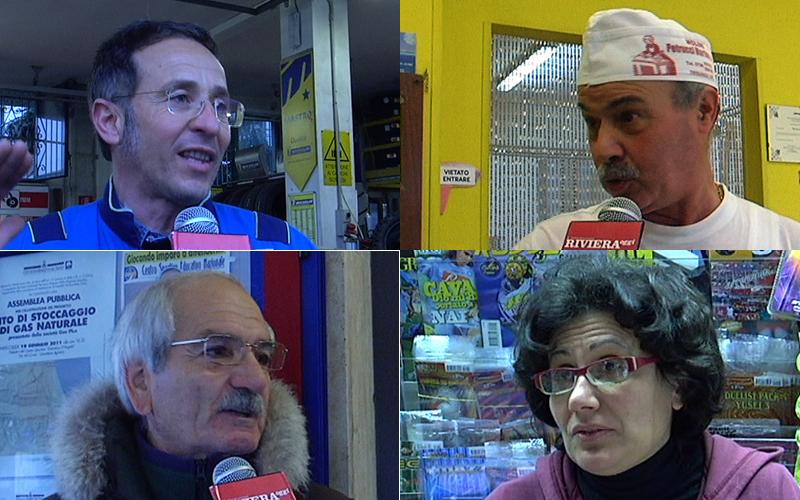 Residenti del quartiere Agraria commentano l'allagamento