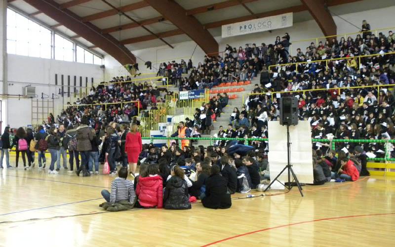 Studenti al Colle Gioioso per la Festa dell'Unità
