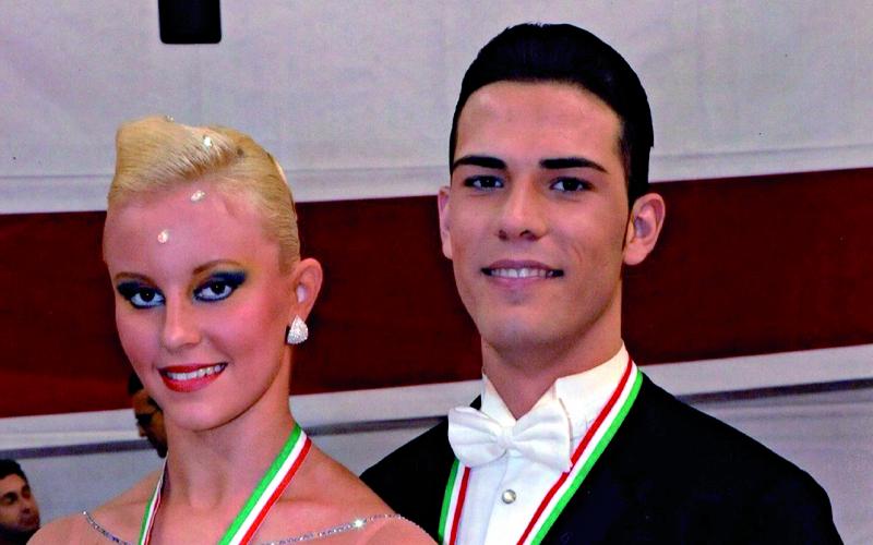 Eros Sciamanna e Anna Jaglinska