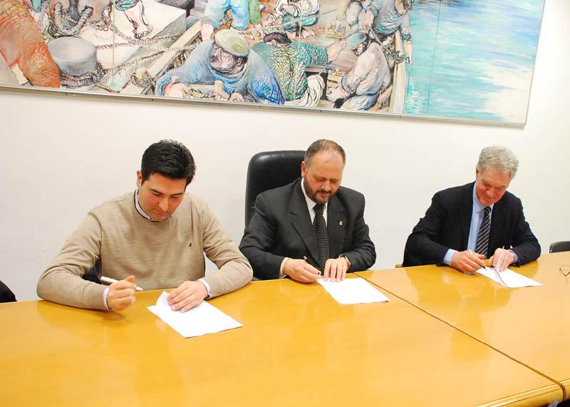 Fosso dei Galli, firma della convenzione per la messa in sicurezza