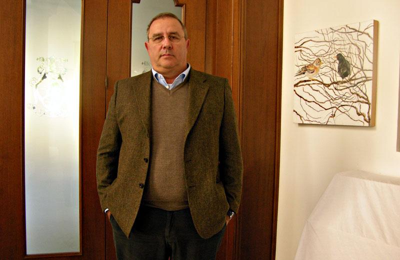 Gaetano Sorge, presidente dell'Assoalbergatori di San Benedetto