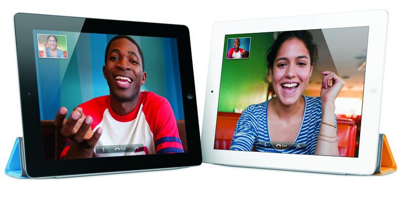Una videochat su iPad 2 (da www.apple.com)