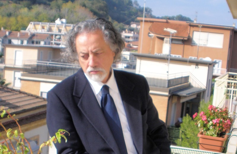 Lo scrittore Antonio De Signoribus