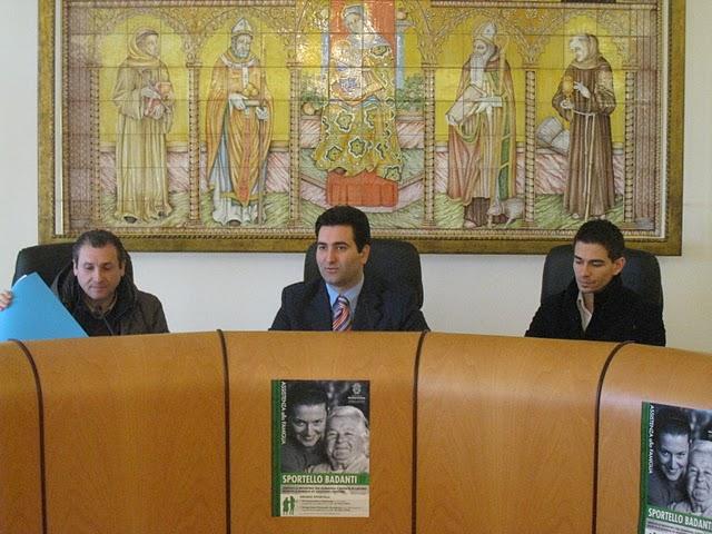 Da sinistra: Matteo Troiani, Stefano Stracci, Alberto Croci