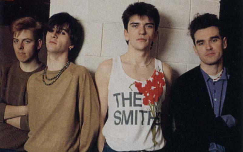 The Smiths: Rourke, Marr, Joyce, Morrisey