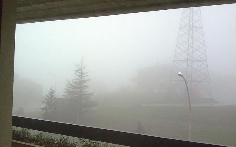 Nebbia fitta ad Acquaviva, 1° marzo 2011